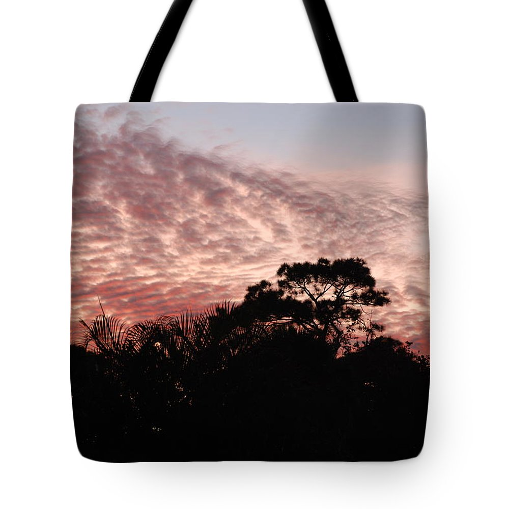 Sky Tote Bag featuring the photograph Thanksgiving Sky by Rob Hans
