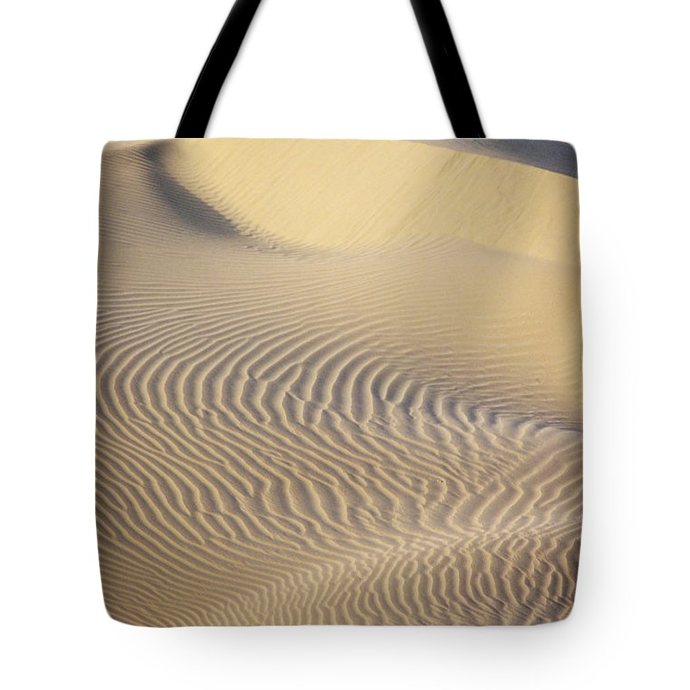 Asian Art Tote Bag featuring the photograph Thar Desert Dunes by Gloria & Richard Maschmeyer - Printscapes