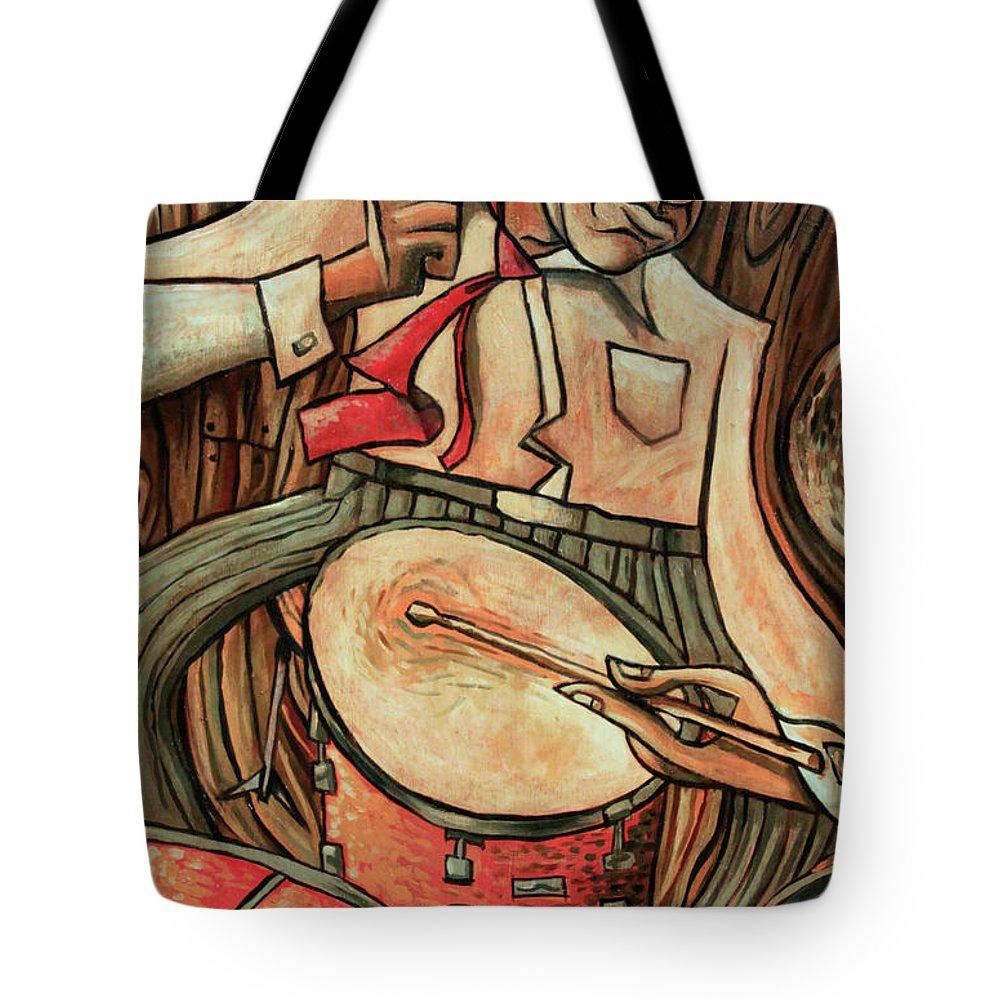 Drummer Tote Bags
