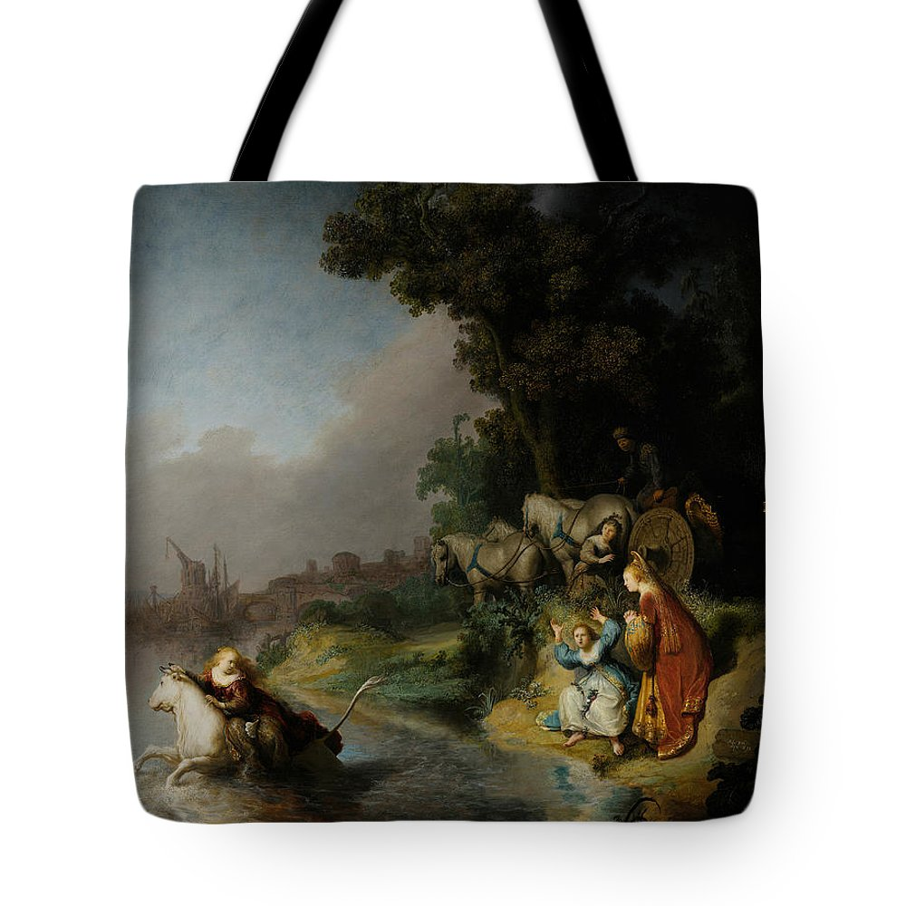 Rembrandt Tote Bag featuring the painting The Abduction Of Europa by Rembrandt