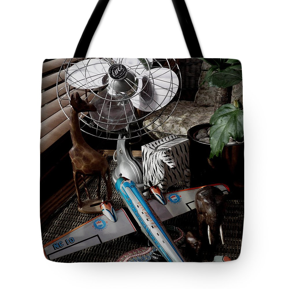 Still Life Tote Bag featuring the photograph The African Fantasy by Charles Stuart
