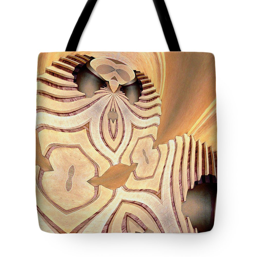 Photography Tote Bag featuring the photograph The Alien by Paul Wear