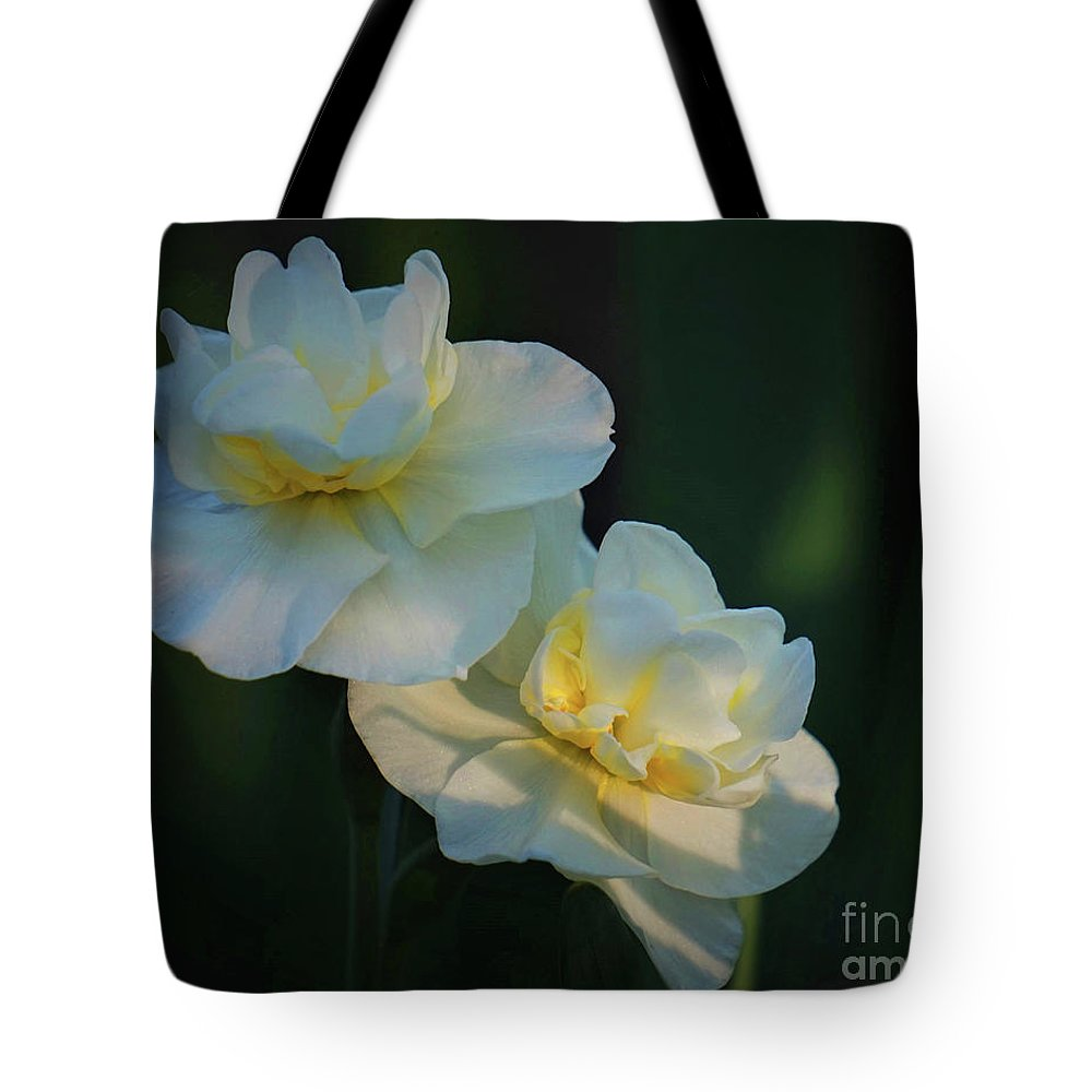 Spring Tote Bag featuring the photograph The Arrival Of Spring by Karen Beasley