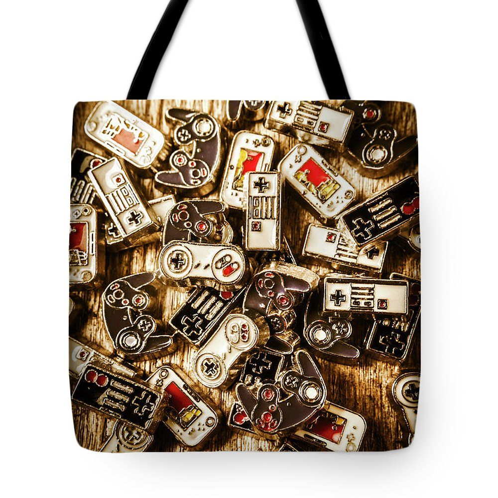 Games Tote Bag featuring the photograph The Art Of Antique Games by Jorgo Photography - Wall Art Gallery