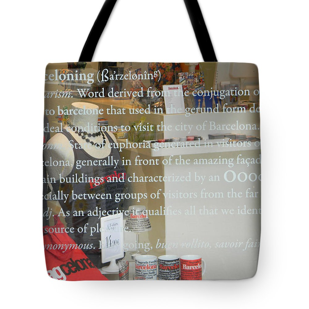 Marwan George Khoury Tote Bag featuring the photograph The Art Of Barceloning by Marwan George Khoury