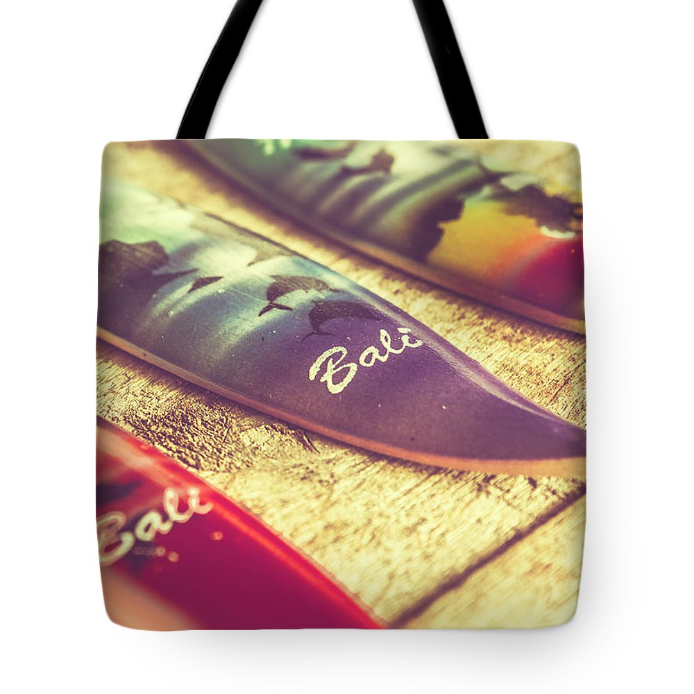 Board Tote Bag featuring the photograph The Art Of Surf by Jorgo Photography - Wall Art Gallery