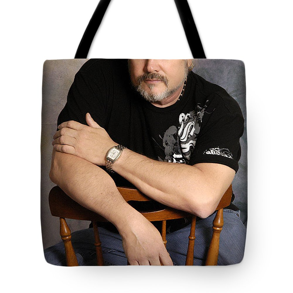 Clay Tote Bag featuring the photograph The Artist by Clayton Bruster