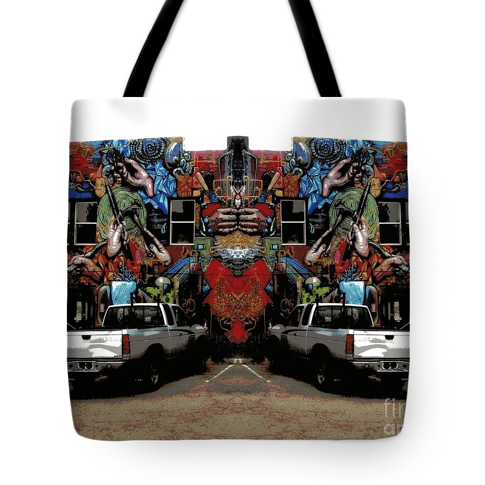Tote Bag featuring the photograph The Artist's House by Kelly Awad
