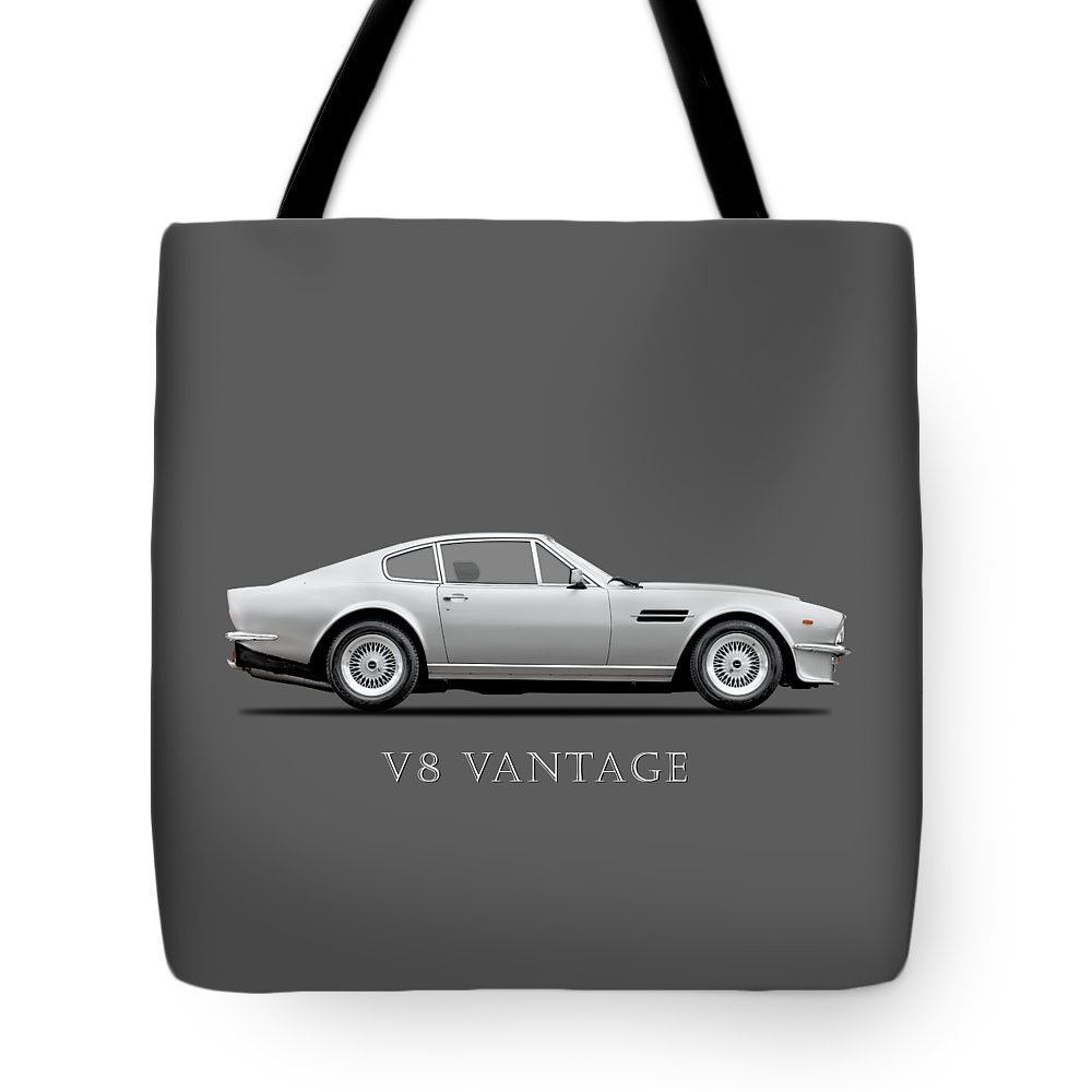 V8 Engine Tote Bags