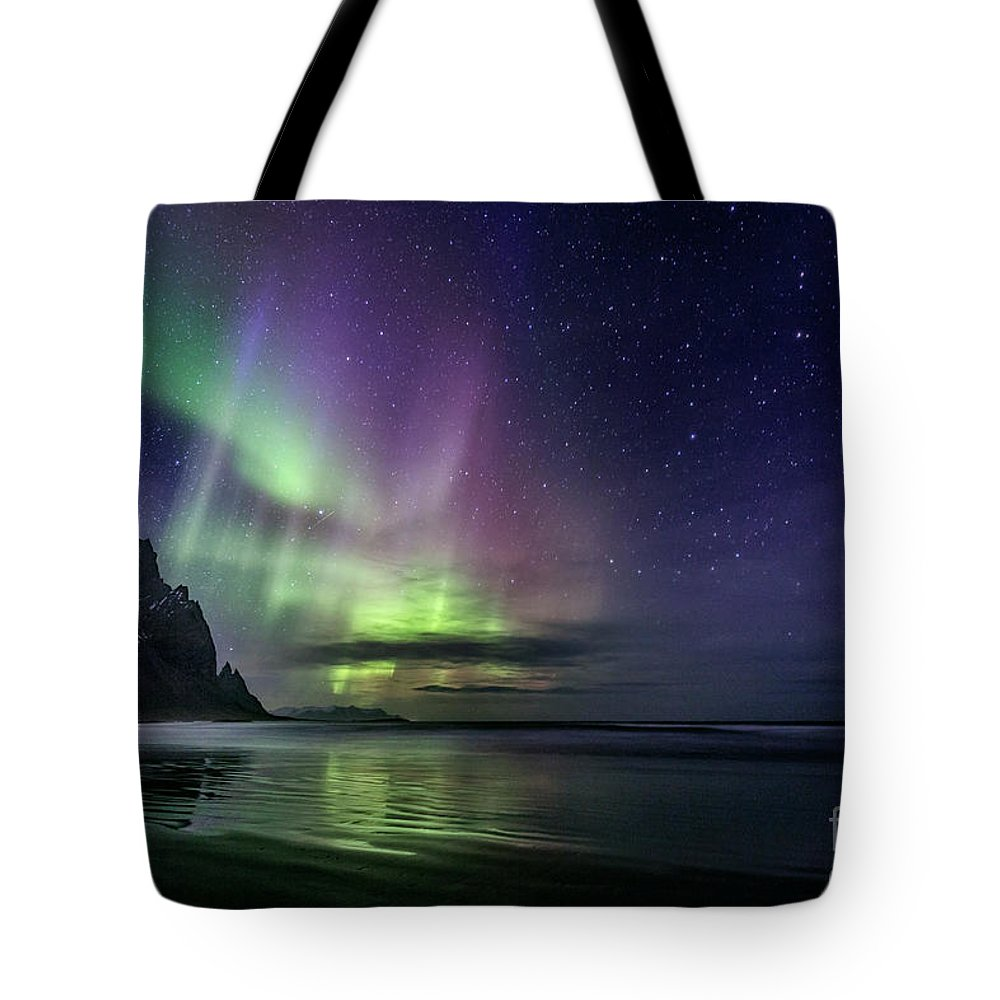 Kremsdorf Tote Bag featuring the photograph The Astral Wake Of Time by Evelina Kremsdorf