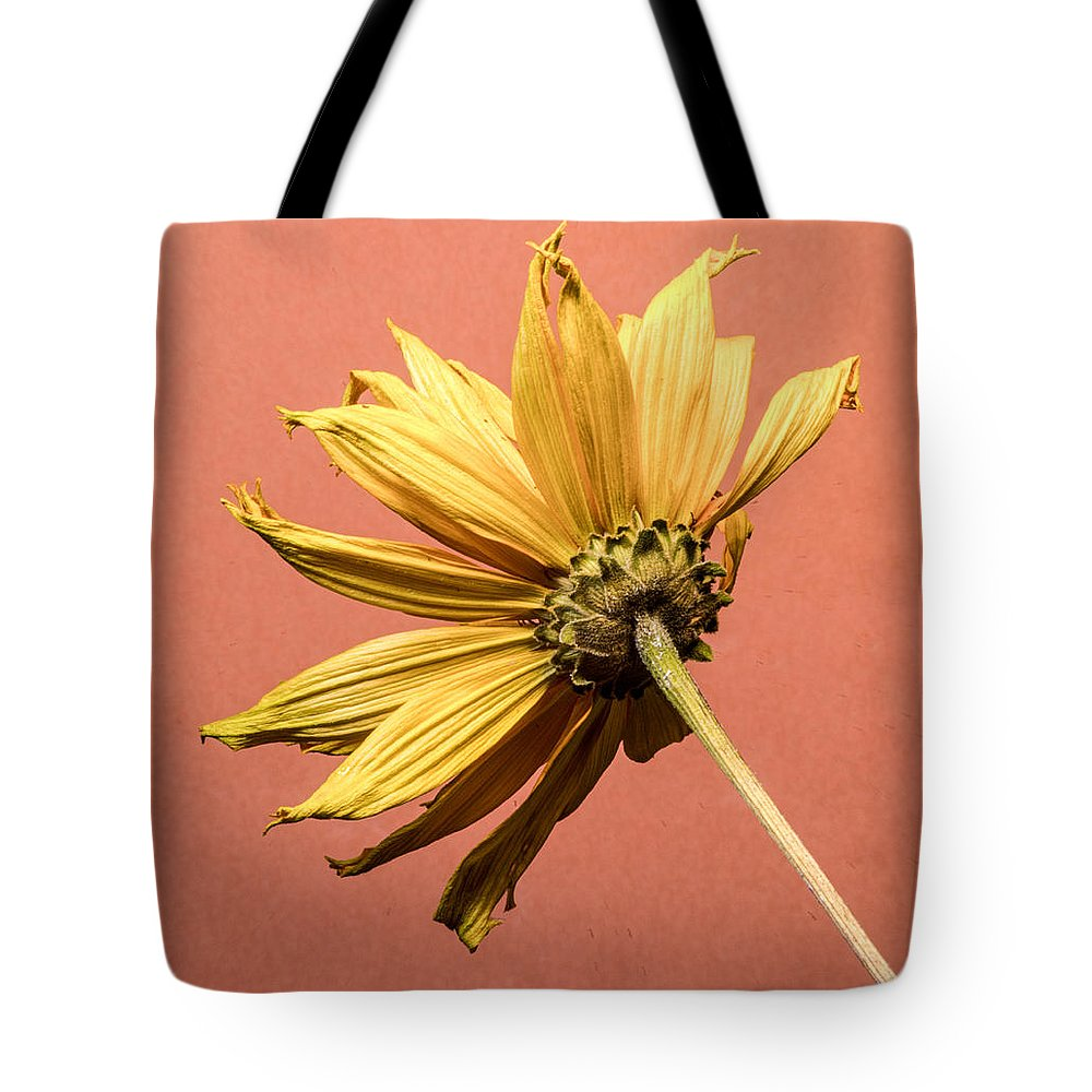 Backside Tote Bag featuring the photograph The Backside Of Yellow by Douglas Barnett
