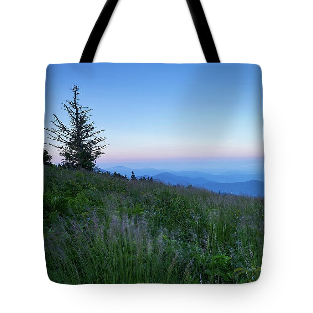 Mountains Tote Bag featuring the photograph The Bald by Steven Owens