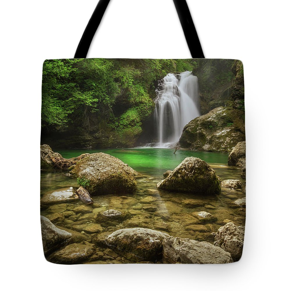 Slovenia Photographs Tote Bags