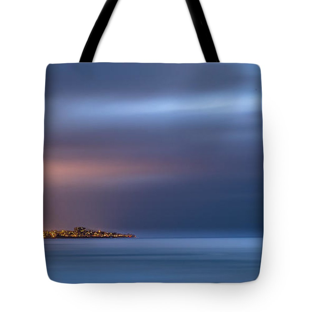 Beach Tote Bag featuring the photograph The Blue Jewel - La Jolla by Peter Tellone