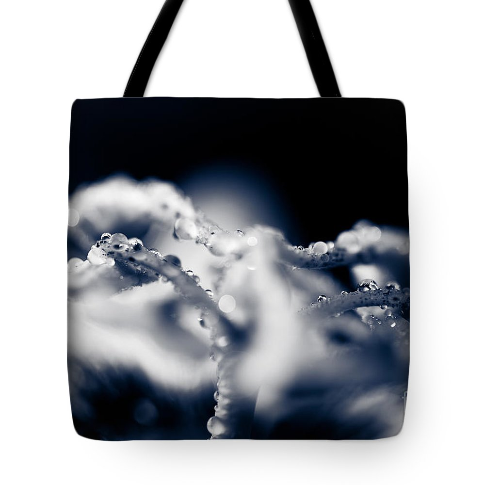 Passion Flower Tote Bag featuring the photograph The Breath Of Kindness by Sharon Mau