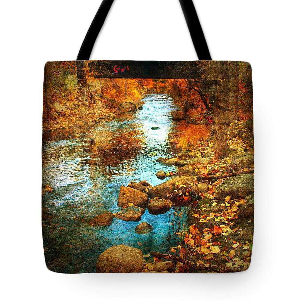 Penticton Tote Bag featuring the photograph The Bridge By Government Street by Tara Turner