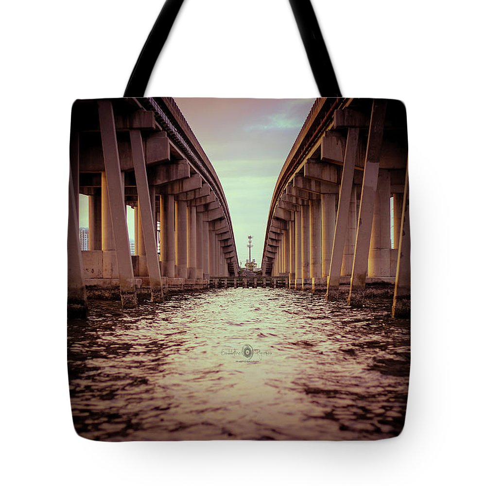 Photography Tote Bag featuring the photograph The Bridge II by Gaddeline Figueroa