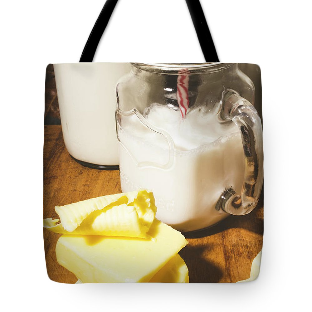 Retro Tote Bag featuring the photograph The Buttermilk Kitchen by Jorgo Photography - Wall Art Gallery