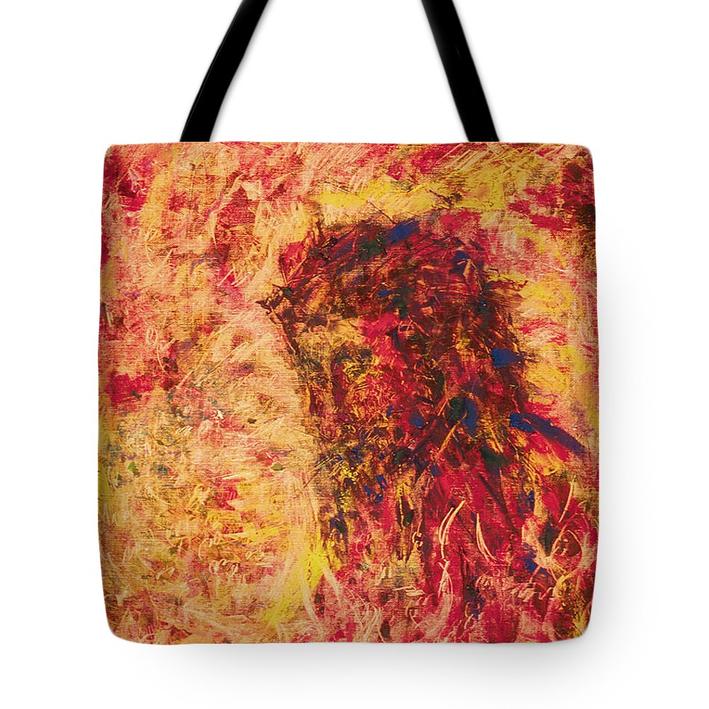 The Call Of Christ Tote Bag featuring the painting The Call Of Christ - Bgcoc by Fr Bob Gilroy SJ