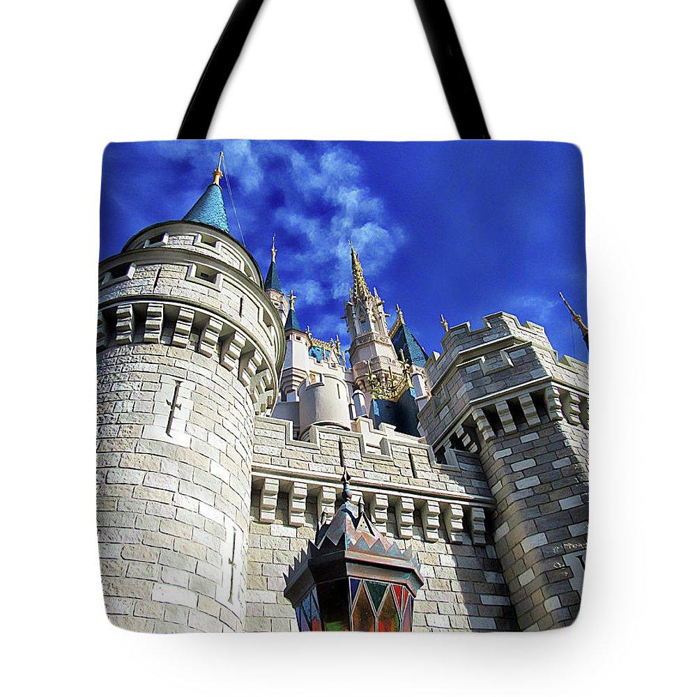 Castle Tote Bag featuring the photograph The Castle by Sean Dorazio