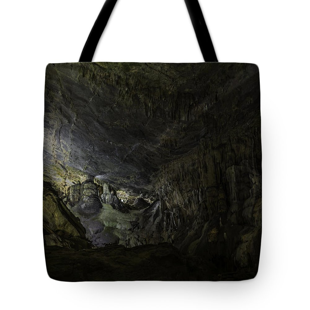 Cave Tote Bag featuring the photograph The Cavern by Steven Wilson
