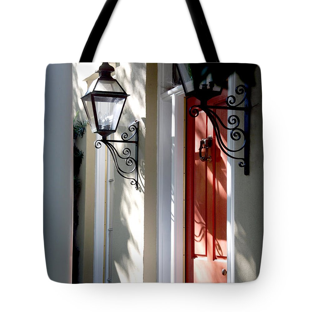 Photography Tote Bag featuring the photograph The Charme Of Charleston Sc by Susanne Van Hulst