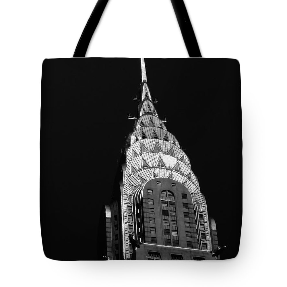 Chrysler Building Tote Bag featuring the photograph The Chrysler Building by Vivienne Gucwa