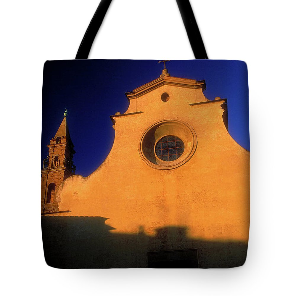 Church Tote Bag featuring the photograph The Church by Surjanto Suradji