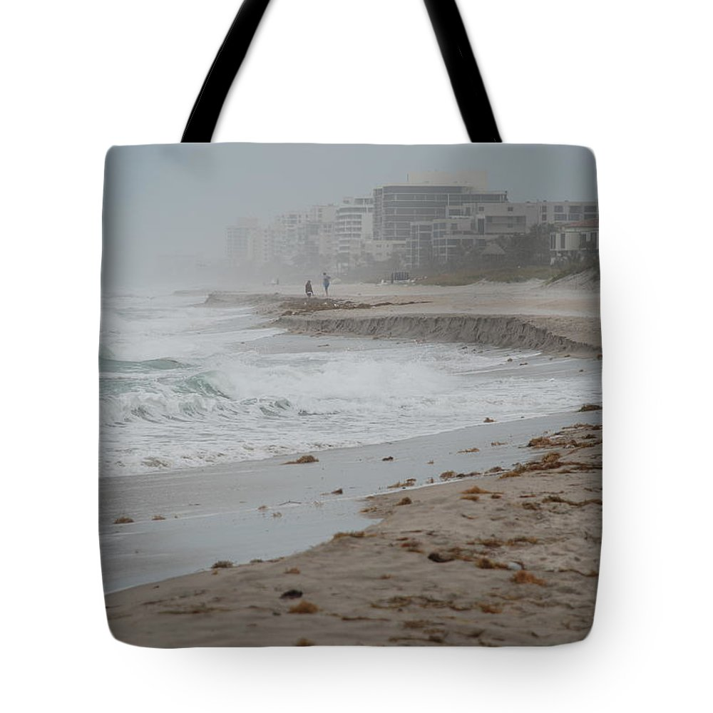 Water Tote Bag featuring the photograph The Coast by Rob Hans