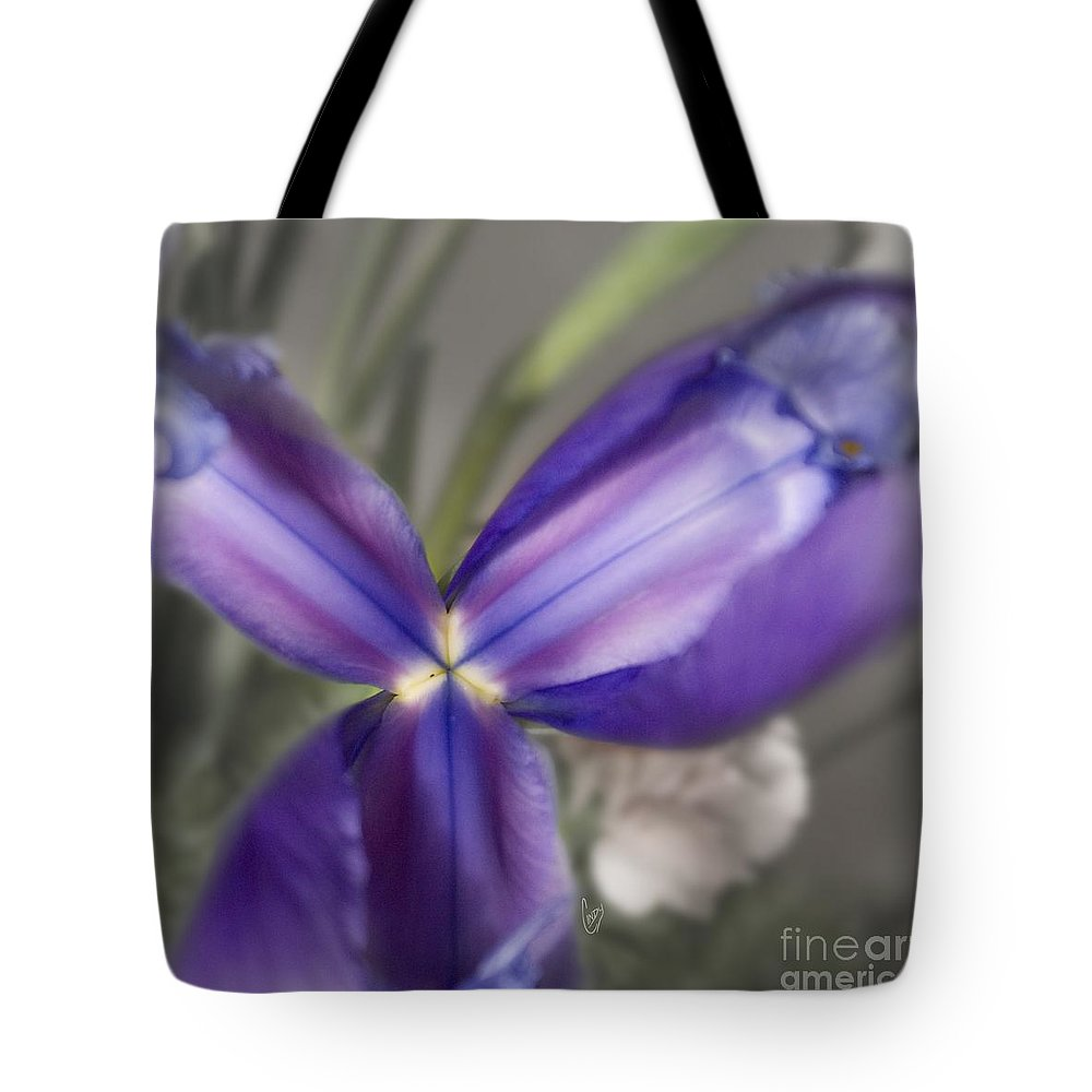 Blue Tote Bag featuring the photograph The Color Of January 2 by Cindy Garber Iverson