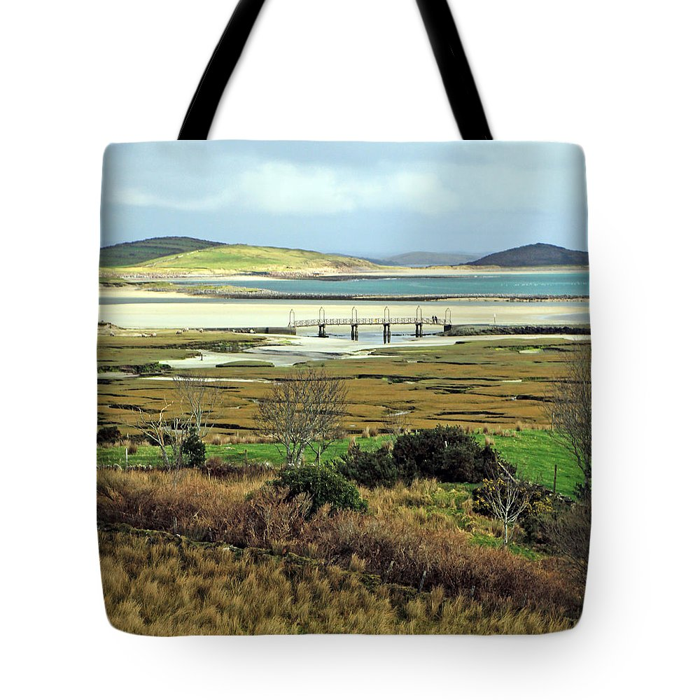 Mountains Tote Bag featuring the photograph The Colors Of The Bay by Jennifer Robin