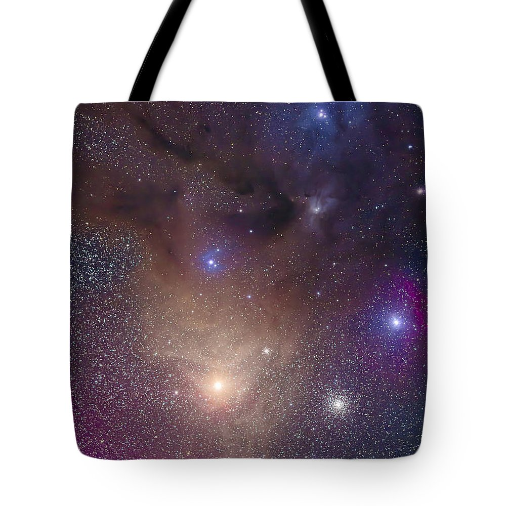 Antares Tote Bag featuring the photograph The Colorful Region Around Antares by Alan Dyer