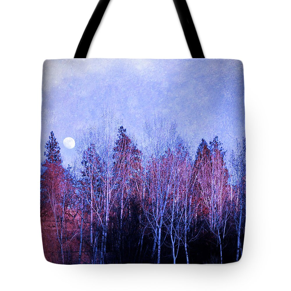 Moon Tote Bag featuring the photograph The Colours Of The Moon by Tara Turner