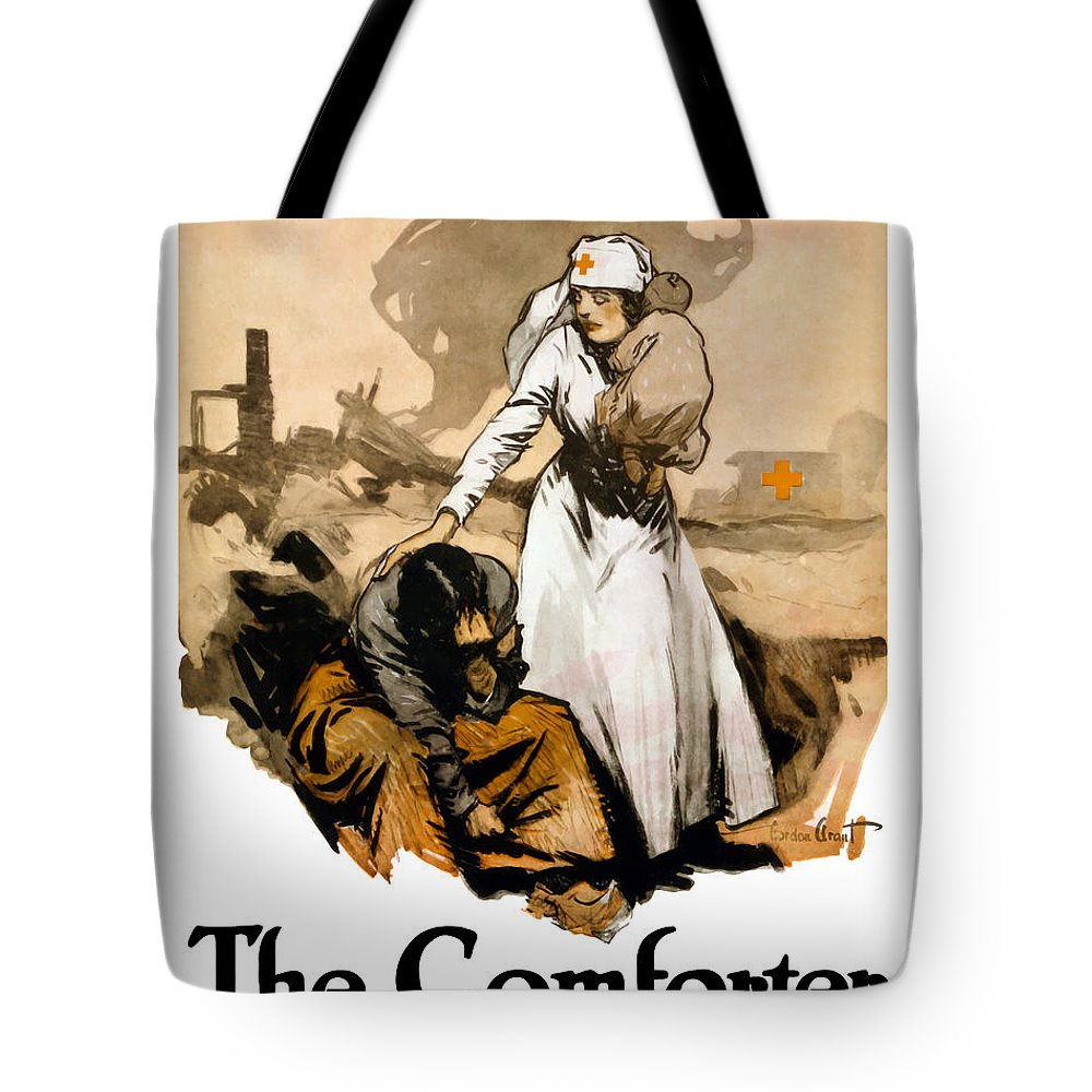 The Comforter World War One Nurse Tote Bag For Sale By War Is Hell