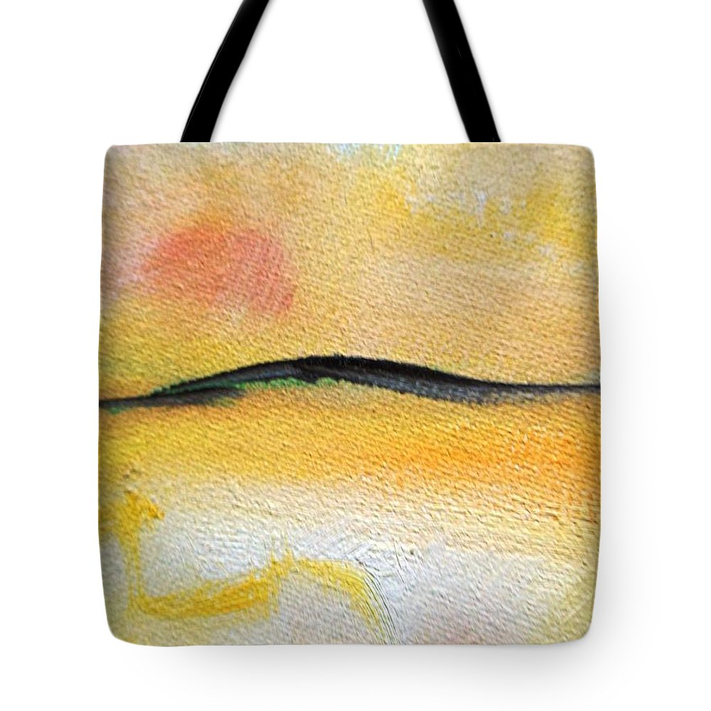 Truck Tote Bag featuring the painting The Coming by Lord Frederick Lyle Morris - Disabled Veteran
