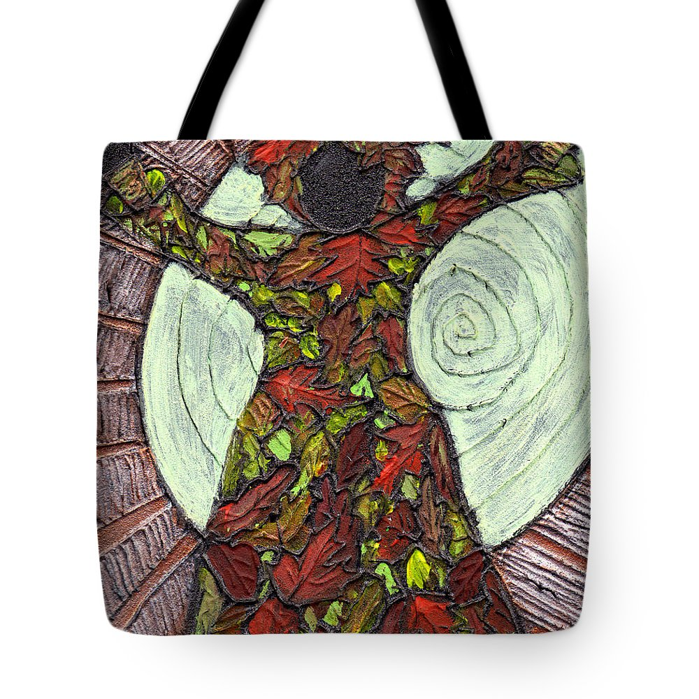 Autumn Tote Bag featuring the painting The Coming Of Autumn by Wayne Potrafka