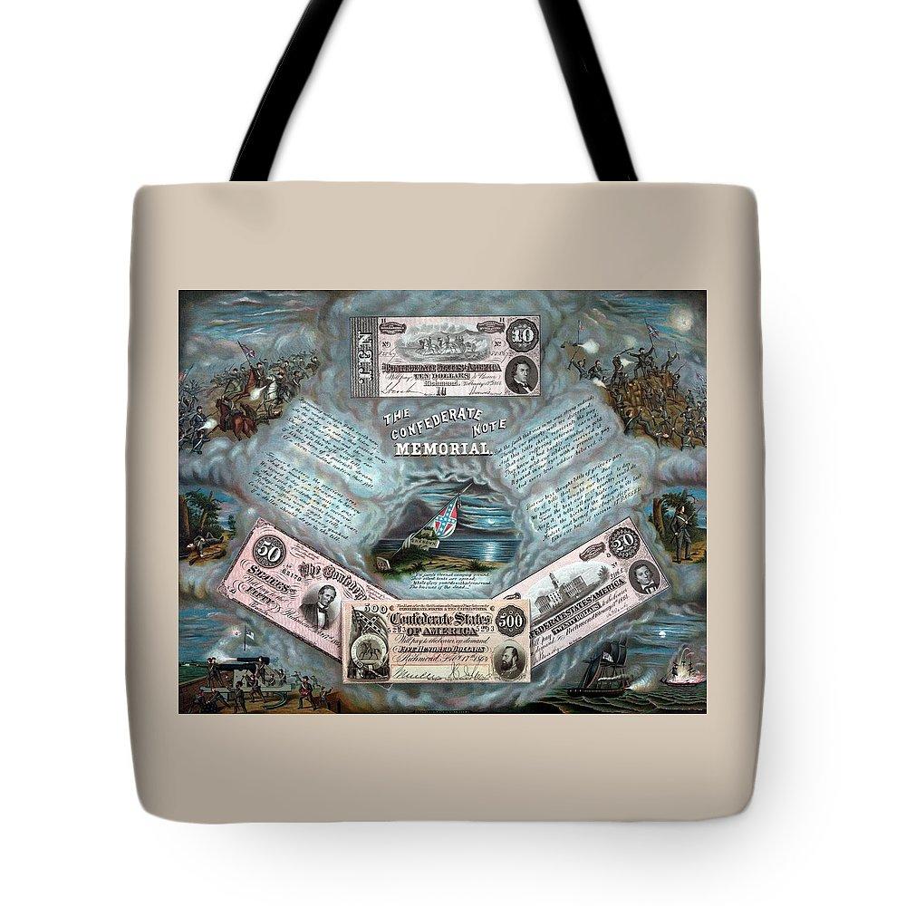 Currency Paintings Tote Bags