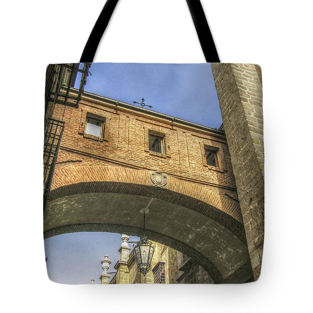 Photography Tote Bag featuring the photograph The Corridor by Ignacio Leal Orozco
