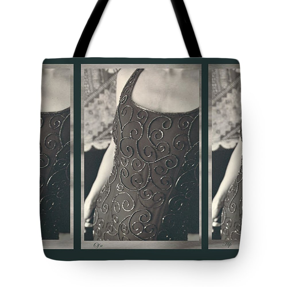 Tote Bag featuring the photograph The Curve Of The Hip by Heather Kirk