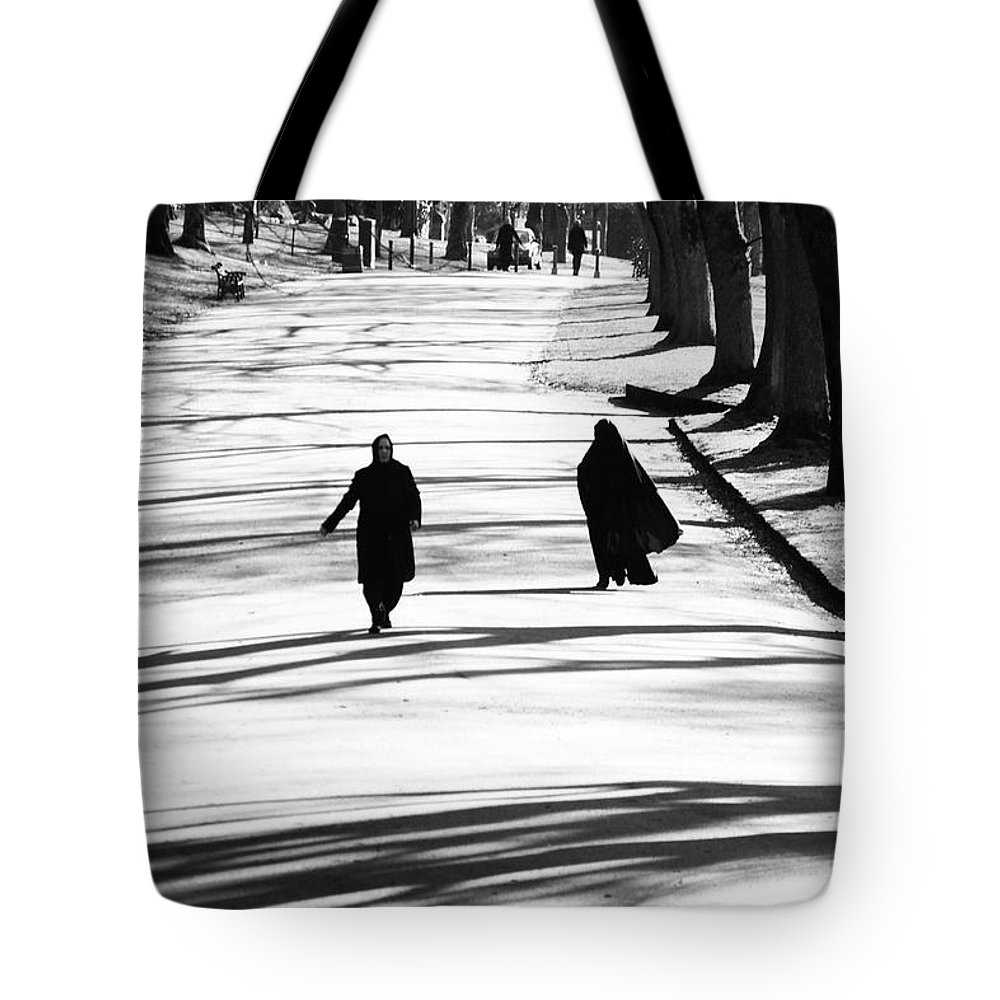 Lister Park Tote Bag featuring the photograph The D A by Jez C Self