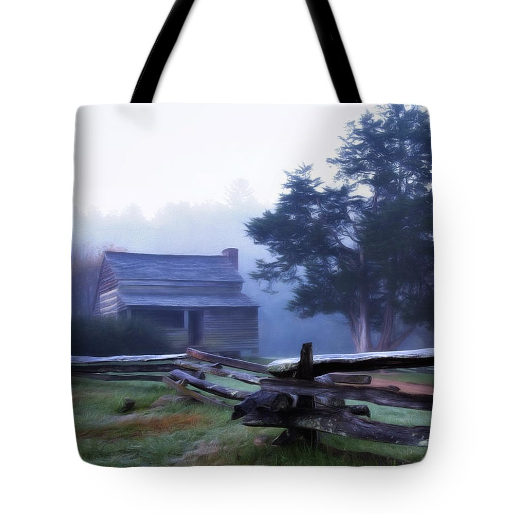 Appalachia Tote Bag featuring the photograph The Dan Lawson Place by Lana Trussell
