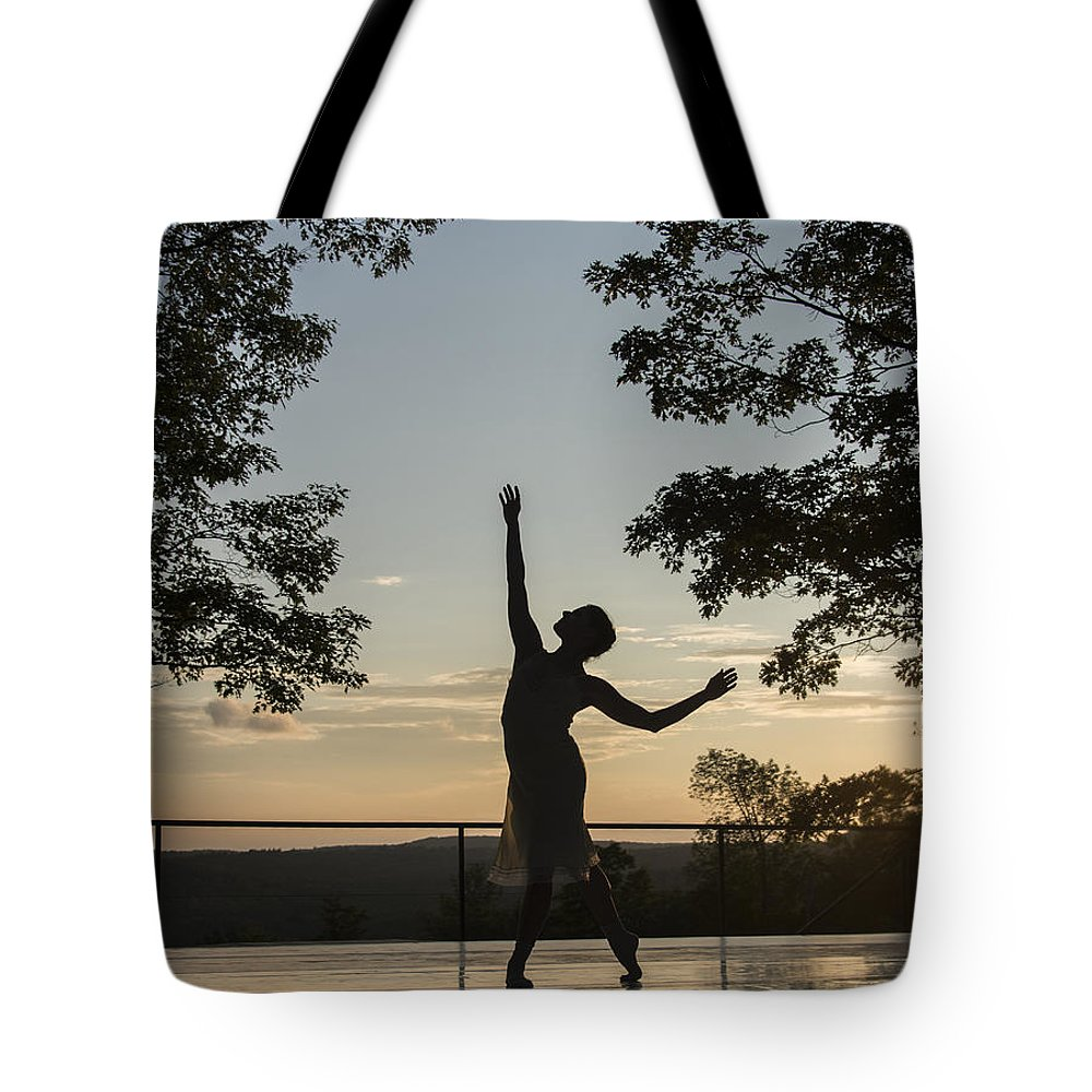 Dancer Tote Bag featuring the photograph The Dancer by Roni Chastain