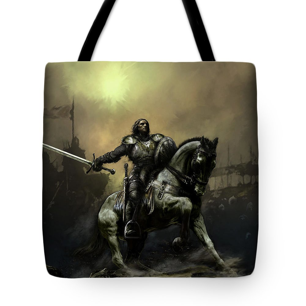Knight Tote Bags