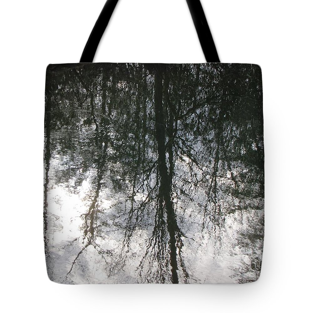 Reflective Tote Bag featuring the photograph The Devic Pool 1 by Melissa Stoudt