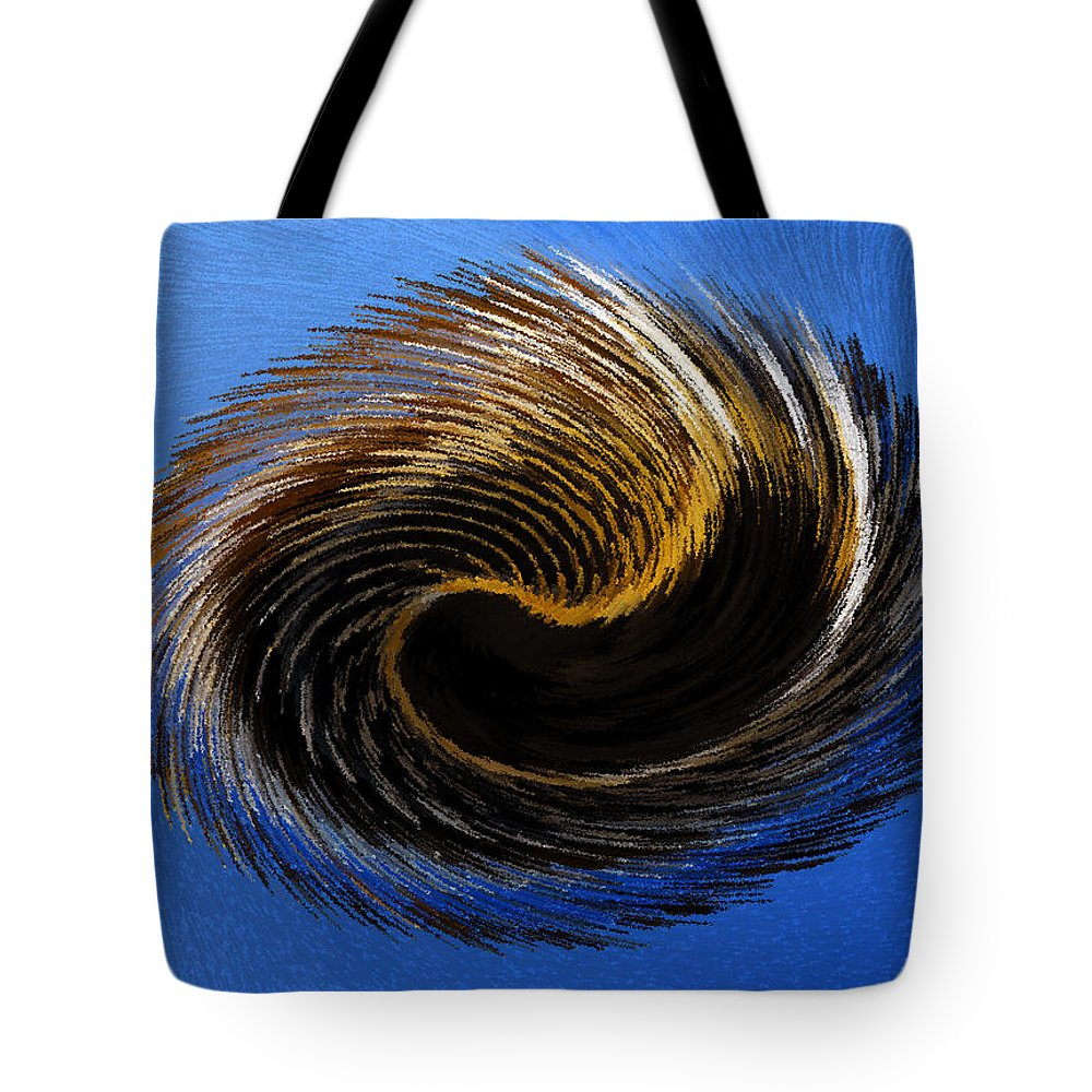 Artwork Tote Bag featuring the painting The Digital Paintbrush by David Lee Thompson