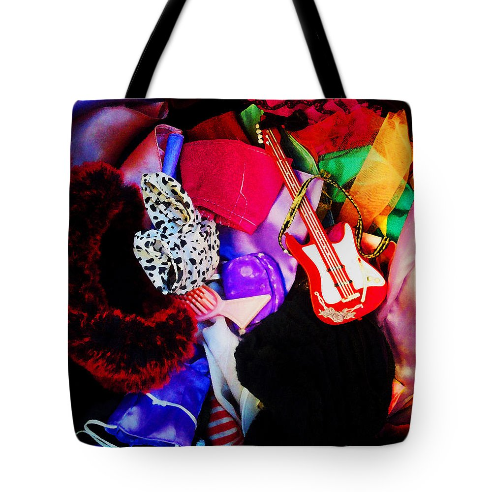 Doll Accessories Tote Bag featuring the photograph The Dolls Are Hoarders by Shawna Rowe