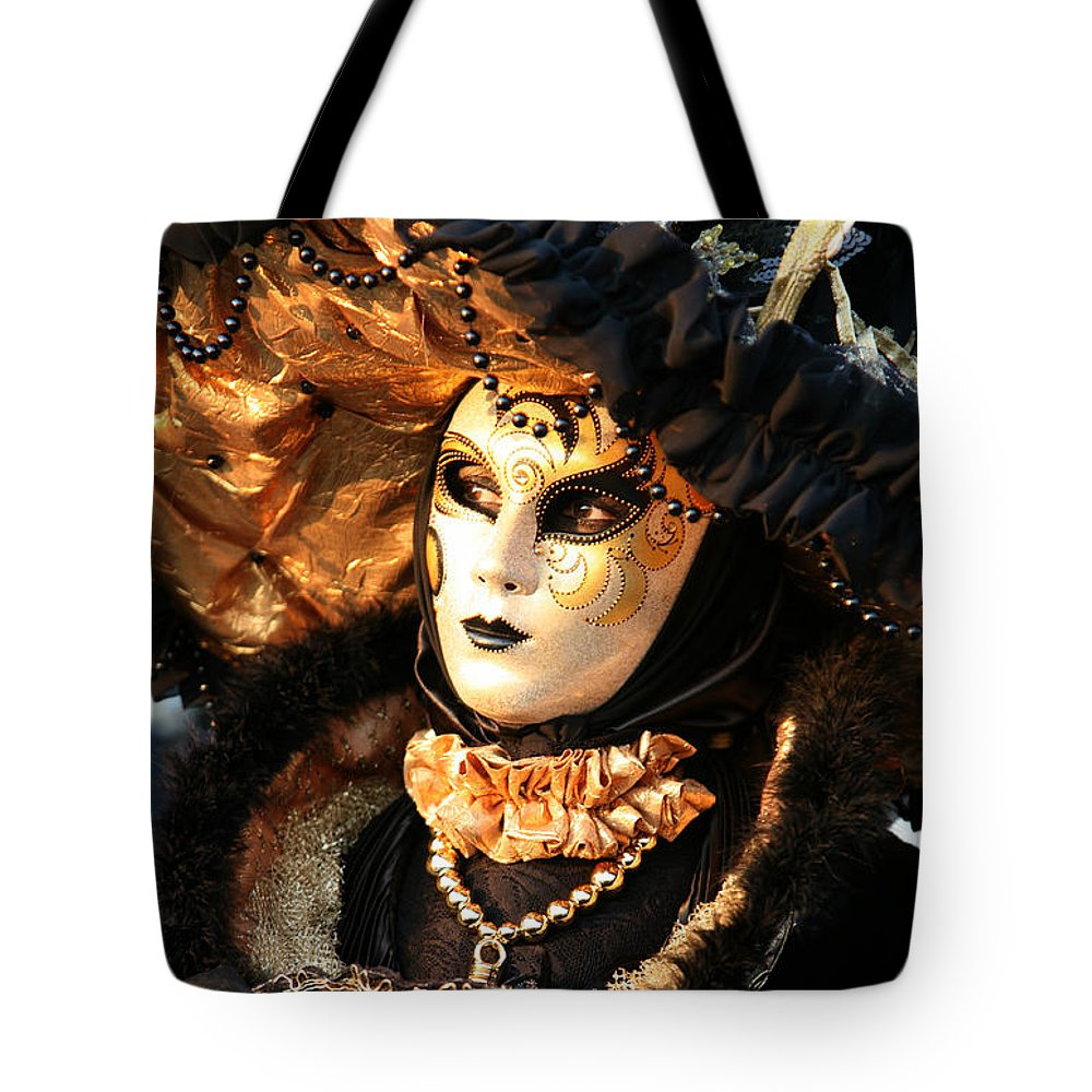 Venice Tote Bag featuring the photograph The Dotted Face by Donna Corless