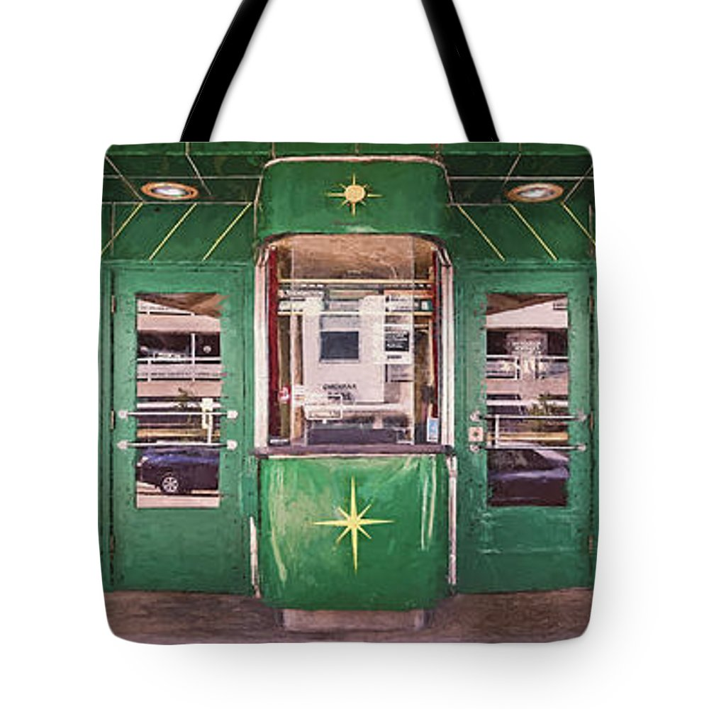 Architecture Tote Bag featuring the photograph The Downer Theater 2016 by Scott Norris
