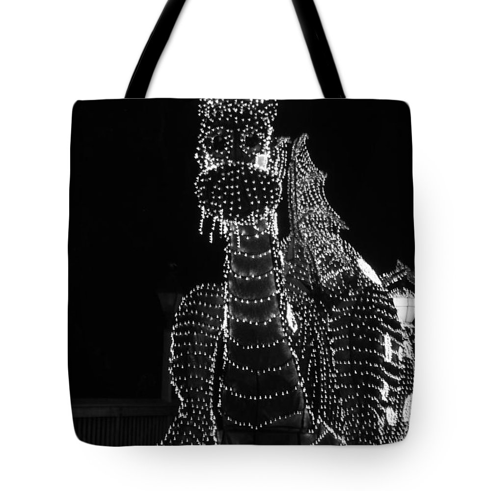 Walt Disney World Tote Bag featuring the photograph The Dragon by Rob Hans
