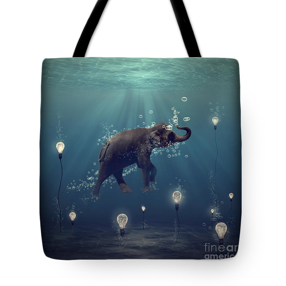 Animals Photographs Tote Bags
